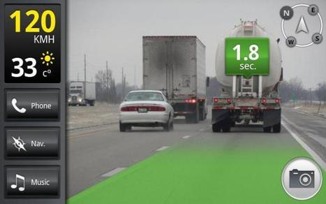 iOnRoad Augmented Driving | Realidad Aumentada | Scoop.it