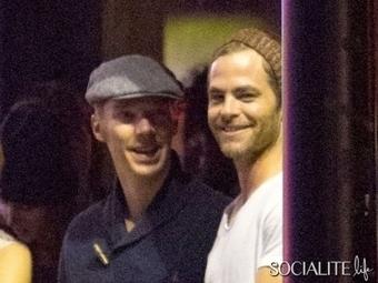 Benedict Cumberbatch & Chris Pine - 10 Best Stories Of The Week – October 4, 2013 | Benedict 221B | Scoop.it