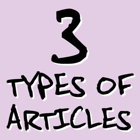 SEO + Content Development, Simplified. The 3 Types of Articles We Write. | Copywriting | Scoop.it