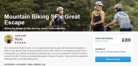 Airbnb quietly tries a new approach to selling tours and activities   consommation collaborative et tourisme   Scoop.it