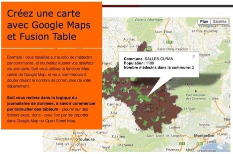 [tuto] Editorialiser une carte des communes sous Google Maps avec Google Fusion   Ecriture ouaibe   Scoop.it