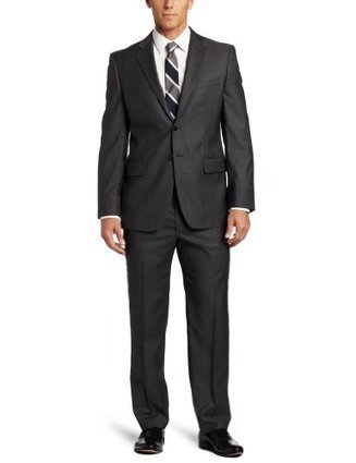 !!!  2840-2FV03100 Joseph Abboud Mens 2 Button Side Vent Suit With Flat Front Pant, Grey, 38 Short Joseph Abboud Grey | Discount Sports Coats | Scoop.it