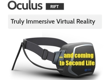 Oculus Rift Integration Coming to Second Life, Linden Lab Staff Confirm (Both Officially and Unofficially) - Telepresence Options | Second Life | Scoop.it