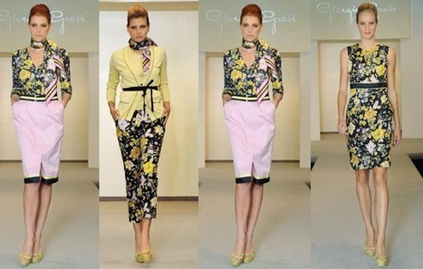 Giorgio Grati Spring / Summer 2012: Flower Power from le Marche | Le Marche & Fashion | Scoop.it