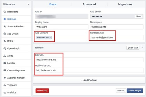 Facebook oAuth 2.0 Login without Page Refresh using jQuery, PHP & MYSQL | W3lessons | Scoop.it