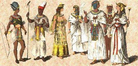 La moda en el Antiguo Egipto era fresca, de lino y en tonos claros | ArqueoNet | Scoop.it