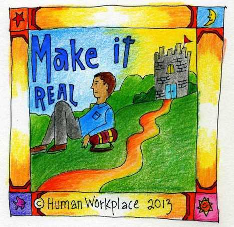 Stepping Into The Human Workplace | VISUAL PROSPERITY by Cynthia Bluenscottish Ross | Scoop.it