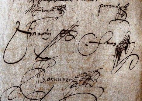 MODES de VIE aux 16e, 17e siècles » Archive du blog » Contrat de mariage de Jeanne Gallon et Mathurin Perrault, Le Lion d'Angers et Saint Rémy la Varenne 1643 | blog de Jobris | Scoop.it