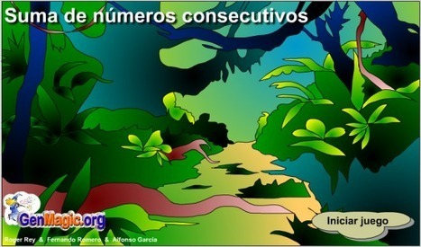 Suma de números consecutivos | Revista GenMagic | Scoop.it