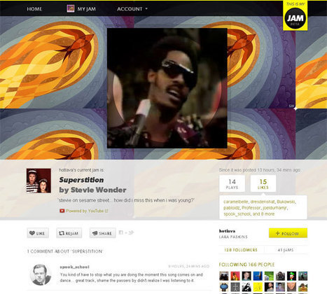 This is My Jam lance son application Spotify | Musique sociale | Scoop.it
