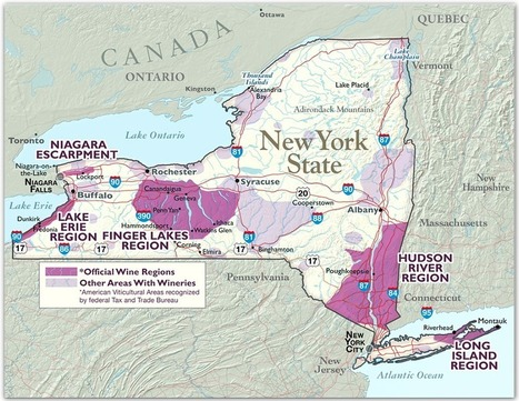 New York State Wine And Grape Regions   Autour du vin   Scoop.it