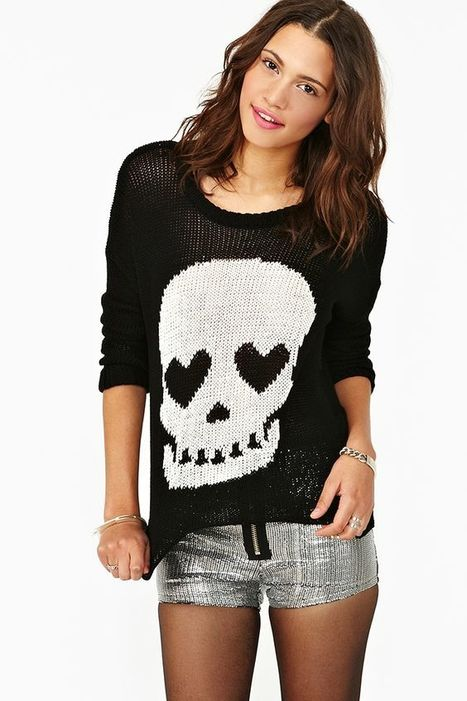 What Skull Print Tops Is Right For You? | post | Scoop.it