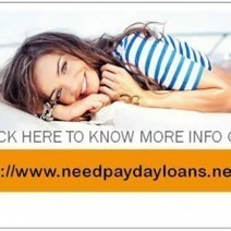 Need Payday Loans Get An Online Funds On Same Day | Visual.ly | Need Payday Loans | Scoop.it