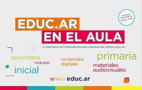 Abren las inscripciones de la 5.º edición de los cursos moderados de educ.ar | Educación 2015 | Scoop.it