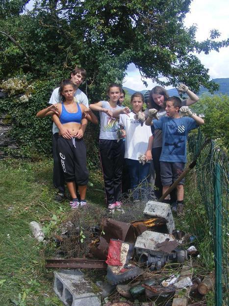 Mission accomplie pour les jeunes d'Arreau et de Lannemezan | Vallée d'Aure - Pyrénées | Scoop.it