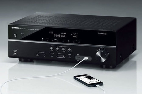 Yamaha Introduces RX-V377 AV Receiver with 4K ULTRA HD Pass-Through Video Technology | Ultra High Definition Television (UHDTV) | Scoop.it