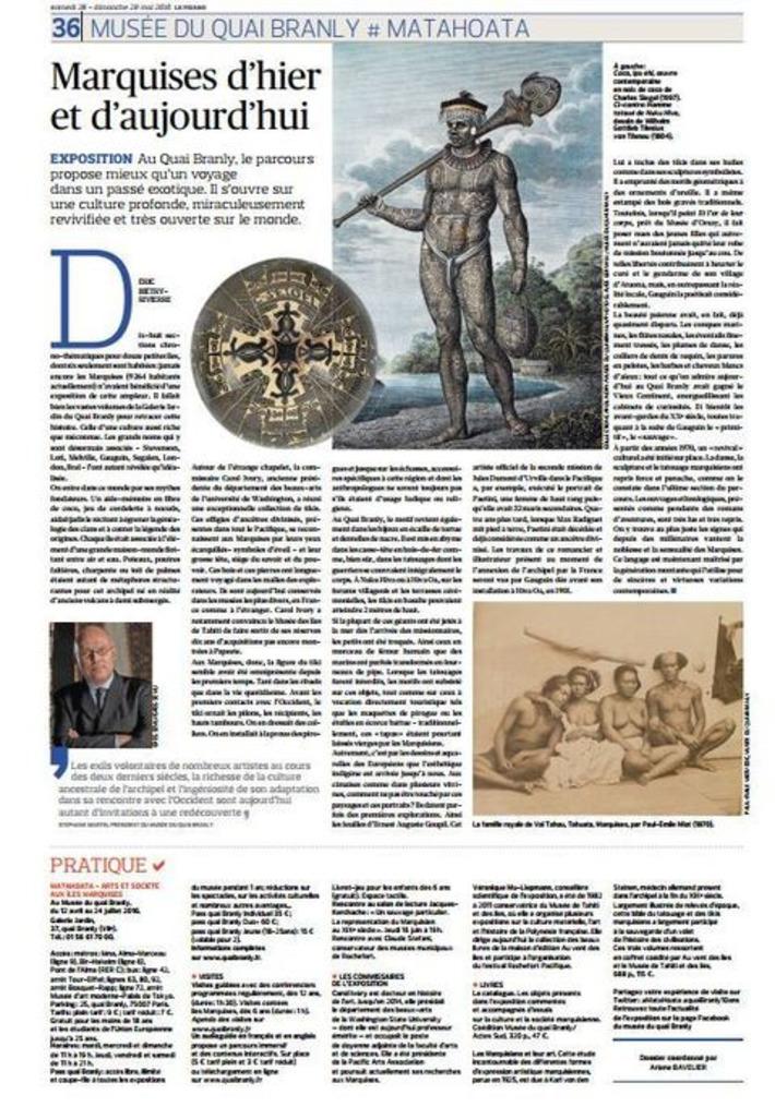 Les Marquises à l'honneur dans le Figaro ce week-end | Tahiti Infos | Océanie | Scoop.it