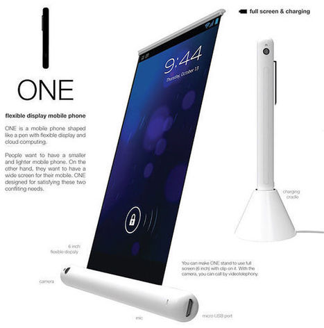 Samsung One – a smartphone larger than a pen | Flexible Display | Flexible screen | Scoop.it