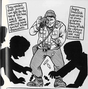 Reportage(s) : Intimité du journalisme et de la bande dessinée | La bande dessinée documentaire | Scoop.it