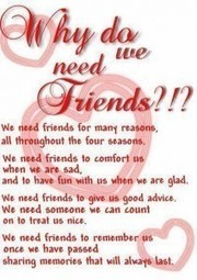 Why do we need friends - Quotes | dailysms4u | Scoop.it