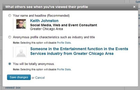 Controlling Privacy Settings in LinkedIn | PlannerWire | Social Media Article Sharing | Scoop.it