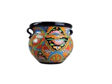 Medium Hand Painted Talavera Pot | Home Decor | Scoop.it