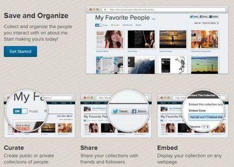 About.me lanza Colecciones, su marcador social de personas al estilo Pinterest | Yo Community Manager | Scoop.it