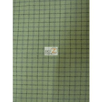 Pendleton Worsted Merino Wool Apparel Home Fabric / Sage Plaid / Sold By The Yard | Fabric Shopping Online | Scoop.it