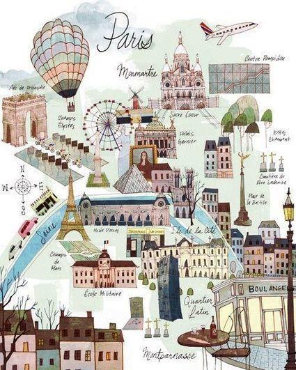 Guide de Paris (image thiglink) | Apprendre le français Bachillerato | Scoop.it
