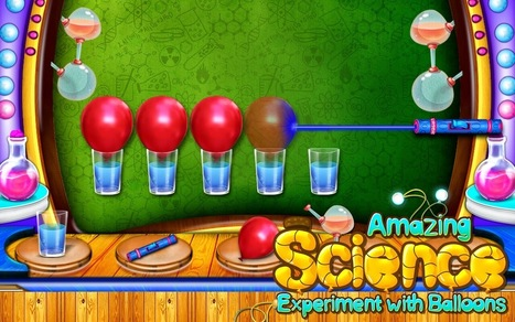 Interactive Learning Games for Kids : How To Do Experiments On Balloons Learn From Science Game For Kids | Edtech PK-12 | Scoop.it