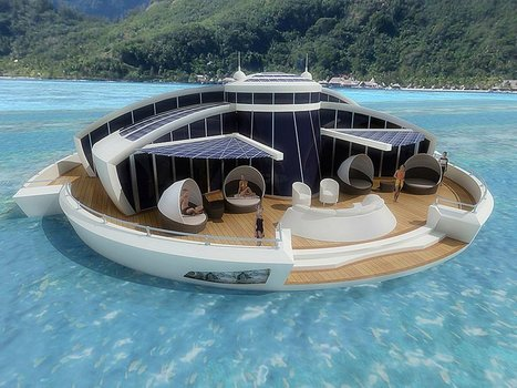 Crazy or Brilliant: A Floating Vacation Home | Team Pendley REMAX REAL ESTATE TIPS | Scoop.it