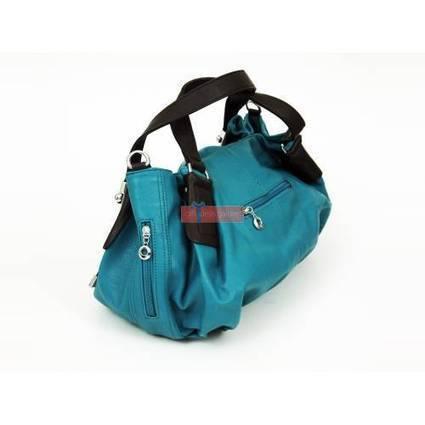 Aqua Leather Handbag | jung33fu | Scoop.it
