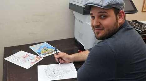Eyragues : Yannick Vicente, l'instituteur qui illustre des livres - La Provence | Illustrations pour romans jeunesse | Scoop.it