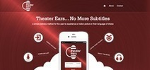 """New iPhone & Android App """"Theater Ears"""" Promises No More Subtitles - PR Web (press release)   Mp4 Movie   Scoop.it"""