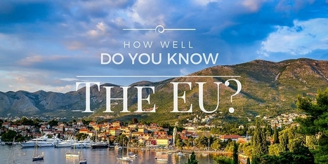 Quiz: How Well Do You Know The EU? | IELTS, ESP, EAP and CALL | Scoop.it