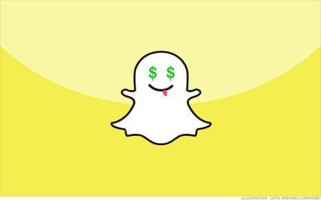 Snapchat : 4 milliards de vidéos vues chaque jour | Clic France | Scoop.it
