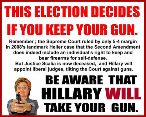 Hillary's Gun Control agenda ... | Criminal Justice in America | Scoop.it
