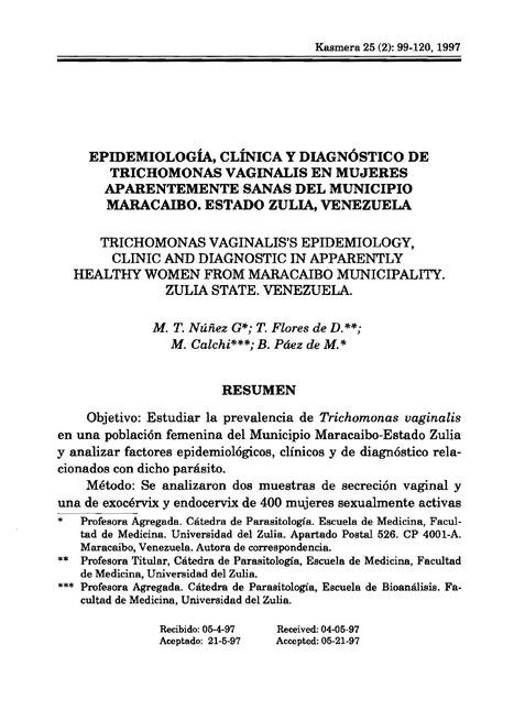 Trichomonas vaginalis en mujeres aparentemente sanas | Trichomonas vaginalis : Parásito número uno de transmisión sexual | Scoop.it