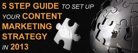 5 Step Guide To Set Up Your Content Marketing Strategy in 2013   Offshore Mobile Application Development   Scoop.it