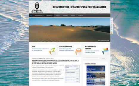 IDEGranCanaria estrena geoportal web | Mapas de Canarias | Pasión por la Geoinformación | Scoop.it
