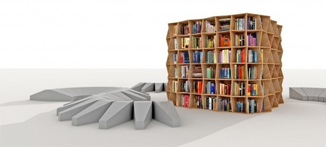 Revue Argus - The ultra-flexible library | Mobilier innovant | Scoop.it