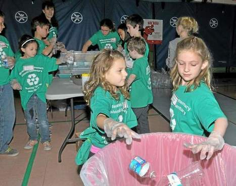 Elementary school students learn about recycling at Whitemarsh - The Times Herald | Classroom Activities for Multiple Intelligences | Scoop.it