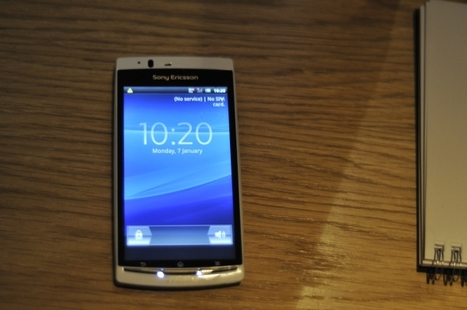 Hands On: Sony Ericsson Xperia Arc S First Look | Technology and Gadgets | Scoop.it