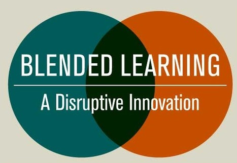 Blended Learning: A Disruptive Innovation [INFOGRAPHIC] #edtech #edutech | Education, Pedagogie & Technologie | American Cultures Education | Scoop.it