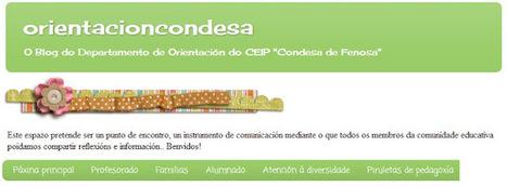 "(OrientaPLE's) Orientacioncondesa: O Blog do Departamento de Orientación do CEIP ""Condesa de Fenosa"", O Barco de Valdeorras (Ourense) | Orientación Educativa - Enlaces para mi P.L.E. | Scoop.it"