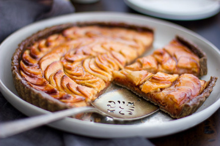 Apple Quince Tart with Gluten-free Buckwheat Crust | Sweet Recipes | Scoop.it