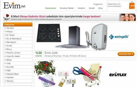 Evim.net Kayıt Sayfası - Evim.net Sitesine Üye Ol! | Mobil Klima | Scoop.it