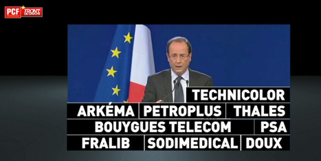 Le pied de nez du PCF au gouvernement Hollande | #compol | Scoop.it