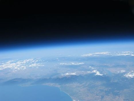 High Altitude Balloon Flight Over Mount Olympus, Greece - Earth Science Picture of the Day | travelling 2 Greece | Scoop.it