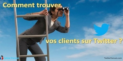 Comment trouver vos clients sur twitter | Réseau Sociaux | Scoop.it